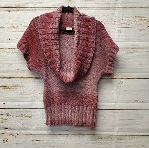 Daytrip Variegated Cowl Neck Sweater